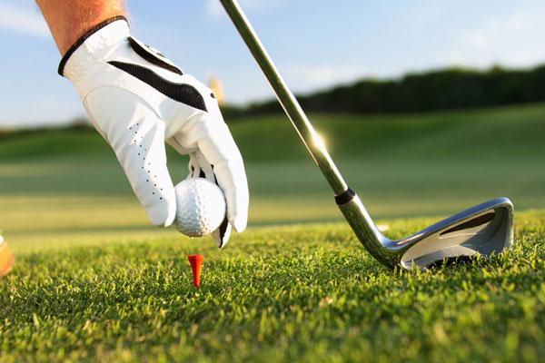 Ansprechposition beim Golfschwung