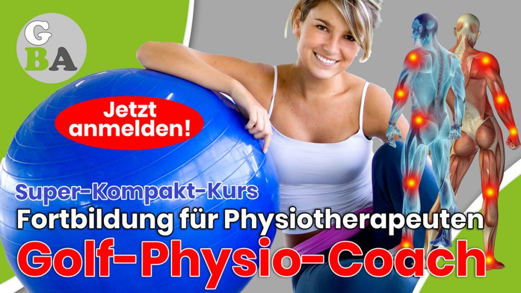 Golf Physiotherapeut fortbildung
